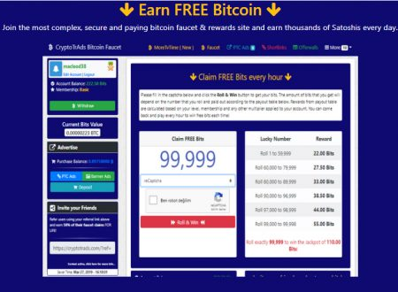 Earn free bitcoin and increase your referrals with Bitsfree.net