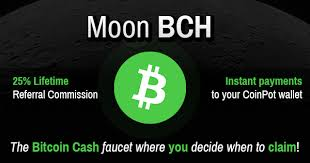 Moon BitcoinCash faucet
